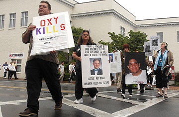 Oxycontin Protest